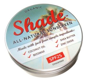 top organic sunscreen - Shade all-natural sunscreen