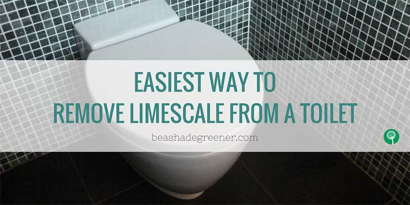 How to remove limescale from toilet