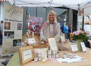 |Gem's Dry Skin Cream market stall